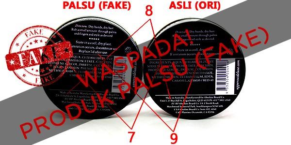 WASPADA!! Beredar Produk Uppercut Deluxe Palsu (FAKE) di Indonesia